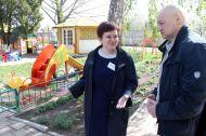 Глава Усть-Лабинского района С.В.Батурин знакомится с образовательным холдингом